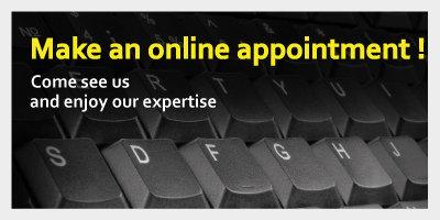 Make an online appointment !